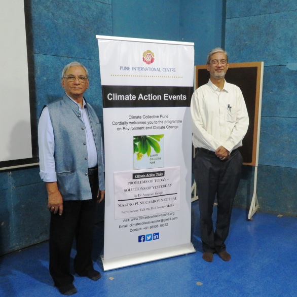 Climate Action Talk: Problems of Today-Solutions of Yesterday (16th November 2018)